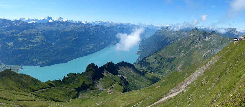 View from Brienz Rothorn, Switzerland