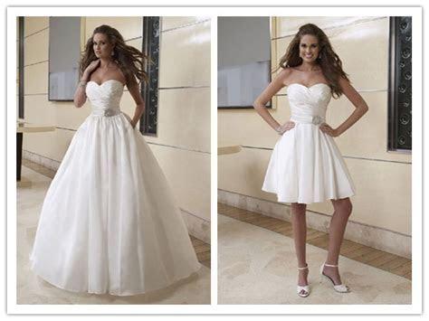 My Wedding Dress: 2 In 1 Wedding Dresses   One Dress Two