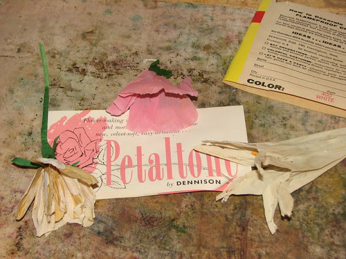Vintage Crepe Paper 001