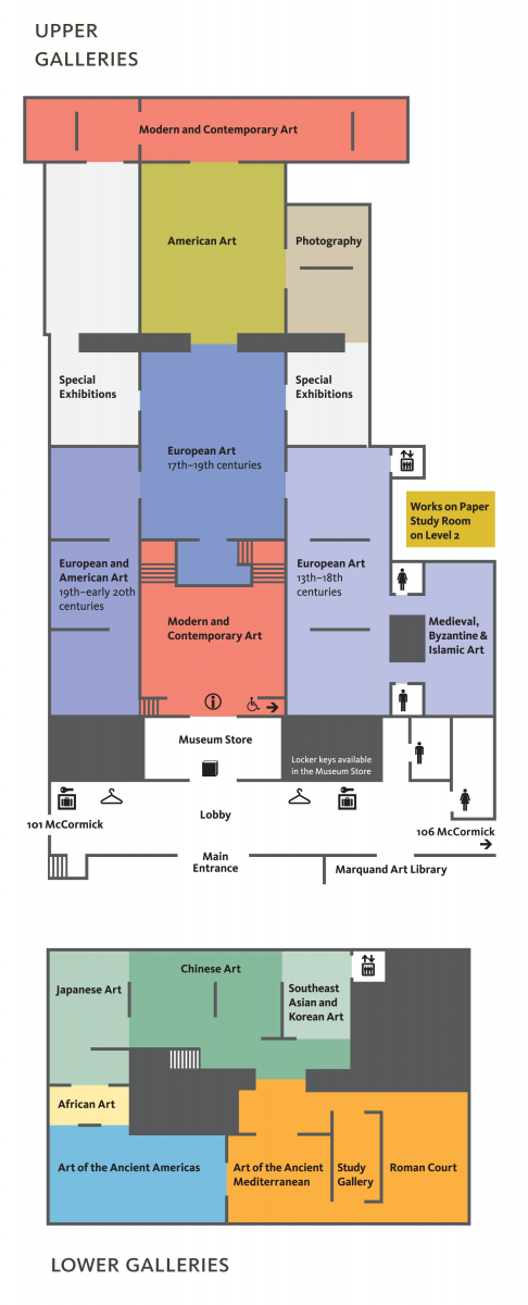 Museum Floor Plans and Gallery Map | Princeton University ...