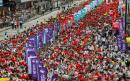 Hong Kong leader says financial hub cannot afford more 'chaos'