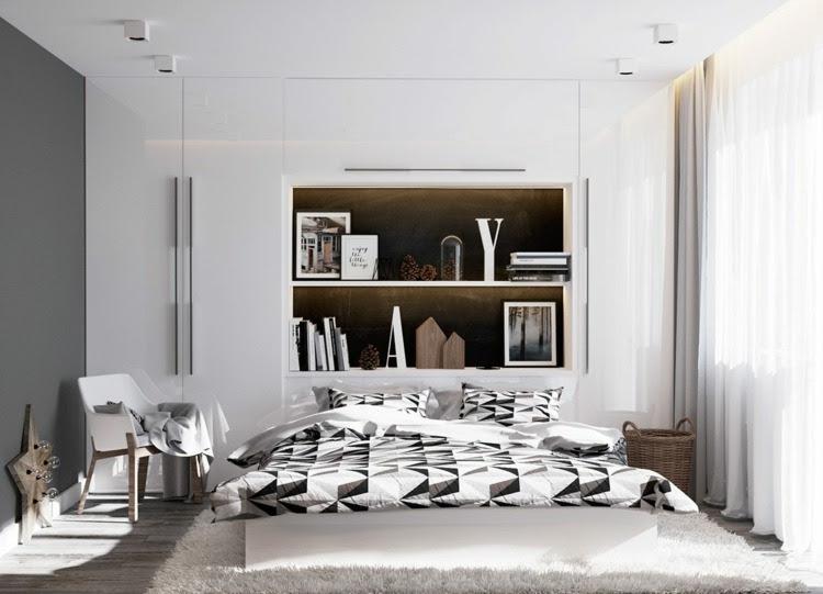 deko im schlafzimmer  6 designs mit kunstobjekten  co