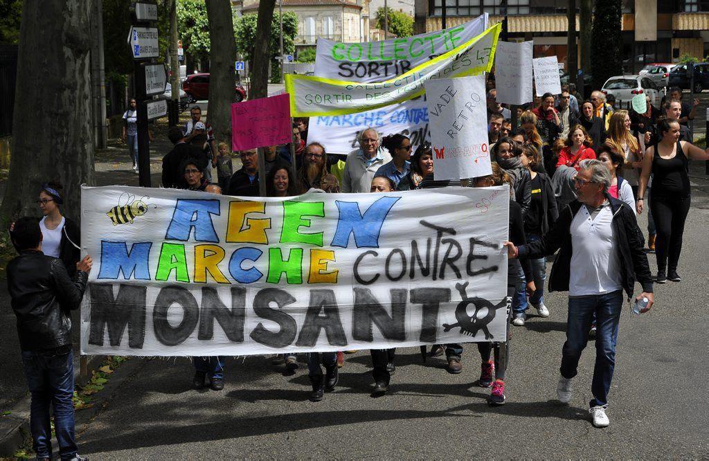 Pour devenir propriétaire de Monsanto, Bayer aura déboursé 66 milliards de dollars (56 milliards d'euros). PATRIK STOLLARZJOHN THYS/AFP