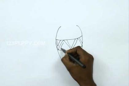 V For Vase Drawing