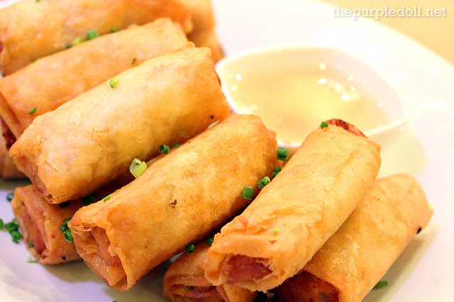 Deep-Fried Chorizo and Kesong Puti Lumpia (Large P360)