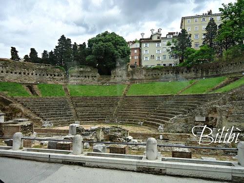 Arena romana scavi