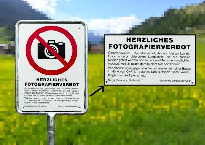 perierga.gr - Χωριό απαγορεύει στους τουρίστες να βγάζουν φωτογραφίες!