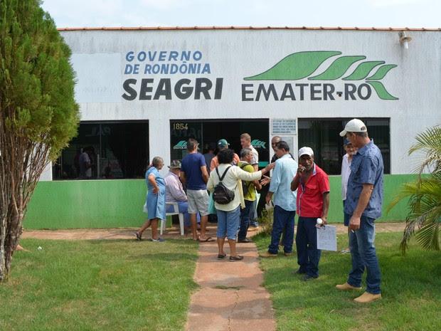 cadastro ambiental em Cacoal (Foto: Magda Oliveira/G1)
