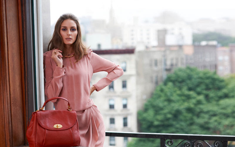 Olivia Palermo Models Jil Stuart for Vogue Girl Korea