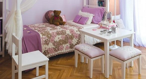 Cuarto de chicos dos opciones unidas por el color blog - Decorar habitacion nina 8 anos ...