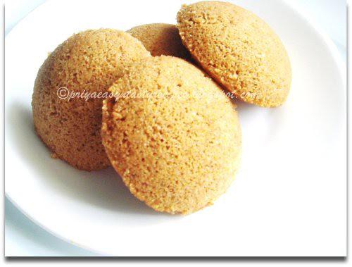 Instant Sweet Cornmeal,Oats & Barley Idli