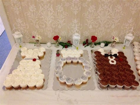 Jack and Jill wedding shower cupcakes   Cake Creations