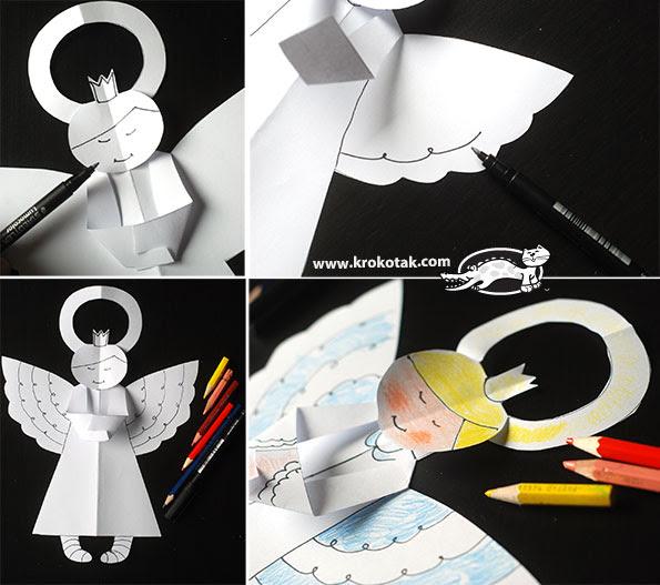 Os anjos de papel