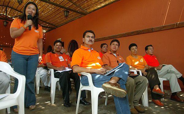 El vocero de Fuerza Popular, Julio Gagó, confirmó hoy que recibieron este aporte, pero negó que su partido tenga algún vínculo con Luis Calle Quirós. (Foto: Archivo El Comercio)