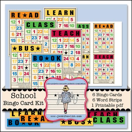http://www.snapclicksupply.com/designers/jenni-bowlin-studio/school-bingo-card-kit/