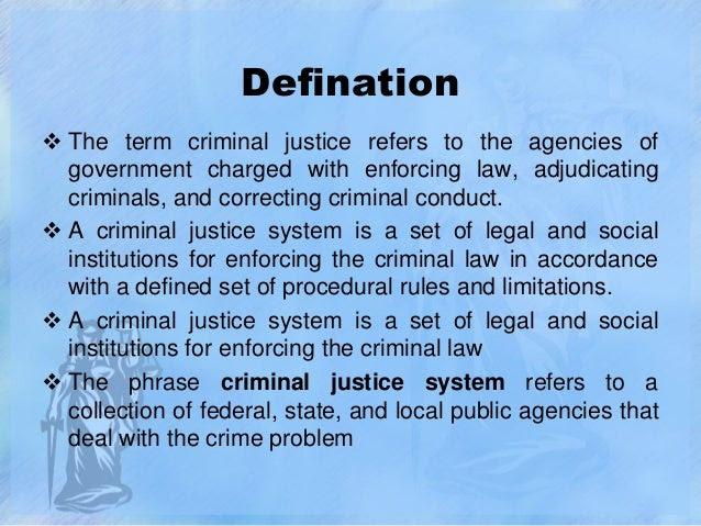 Criminal Justice System | Indian Legal System