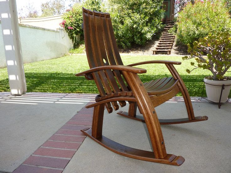 Oak Barrel Adirondack Chair Plans Get Woodworking Tools Guide