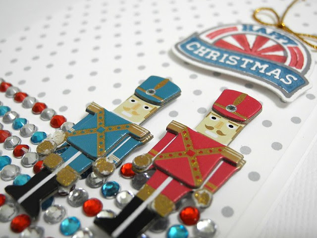Happy Christmas Toy Soldiers (detail)