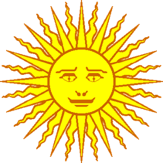 The Sun as depicted on the Argentine flag