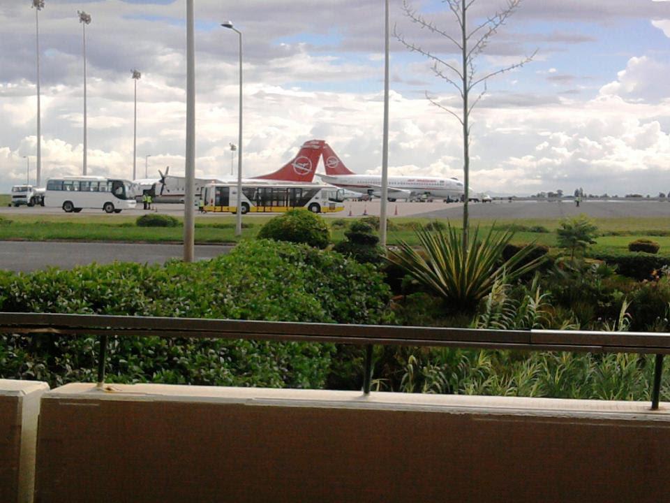 Air Malawi's fleet in Lilongwe