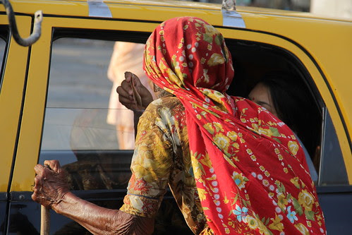 The Old Beggar Lady Of Mahim by firoze shakir photographerno1