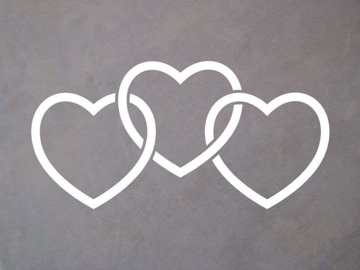 3 Hearts Tattoo Clip Art Library