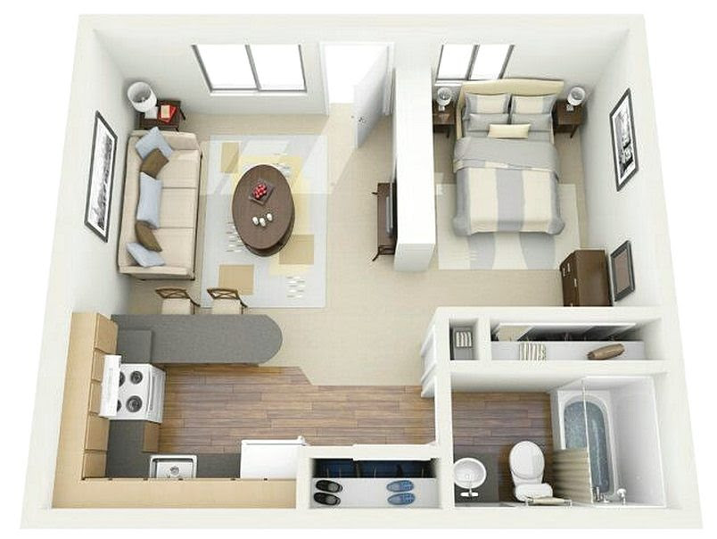 55 Gambar Rumah Minimalis Sederhana Pintu Satu Gratis Terbaru