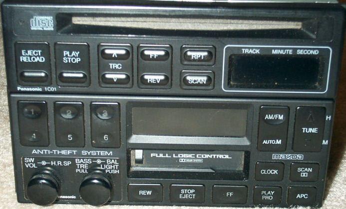 2003 Mazda Protege Radio Wiring Diagram