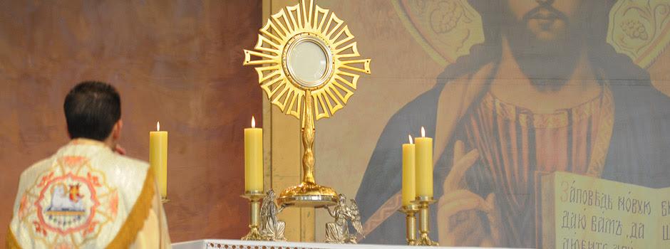 A eucaristia como fonte de cura