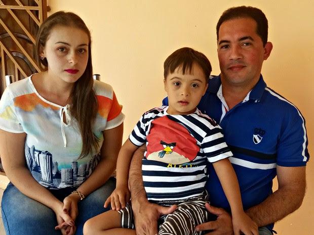 Família de menino com síndrome de down diz que registrou agressão de médica na polícia  (Foto: Iryá Rodrigues/G1)