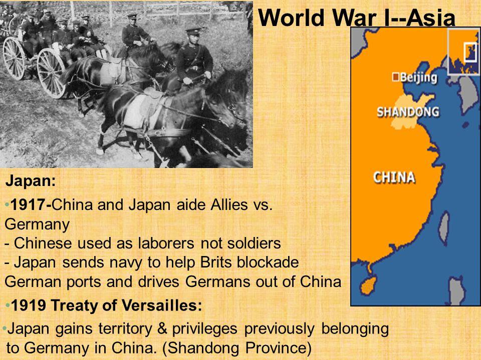 Resultado de imagen de german in china 1919