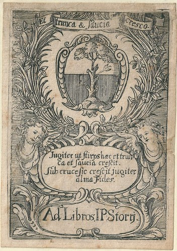 An expensive bookplate