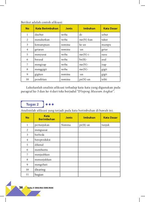 bahasa indonesia kelas  kurikulum  revisi