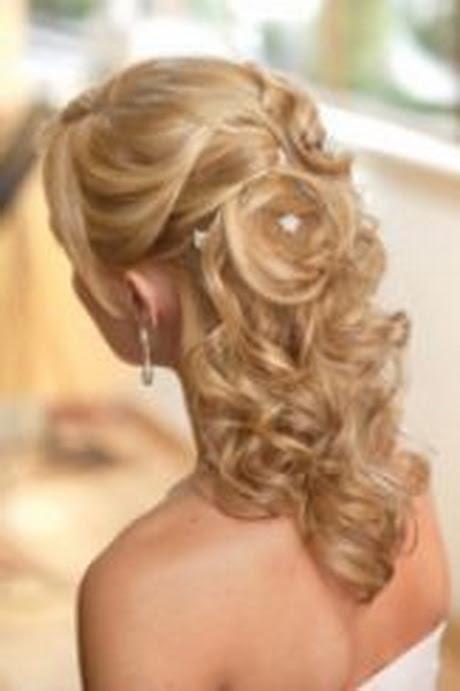 Medium Length Hair Down Wedding Mekuteku wedding hairstyles for