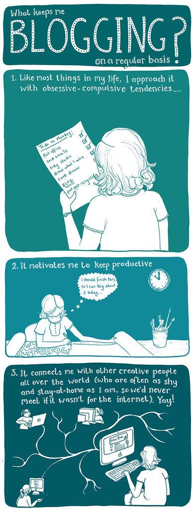what keeps (katie!) blogging