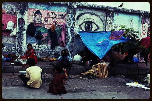 Living With Lord Buddha On The Streets by firoze shakir photographerno1