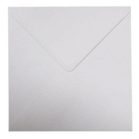 8 x 8 White Envelopes Pack of 10