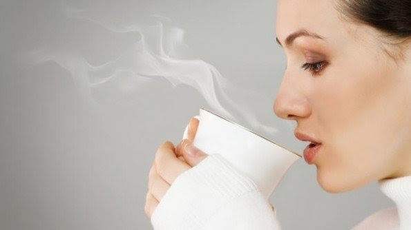 Image result for drinking warm/hot water