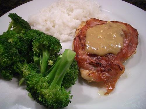 Chicken Saltimbocca with Lemon Sauce