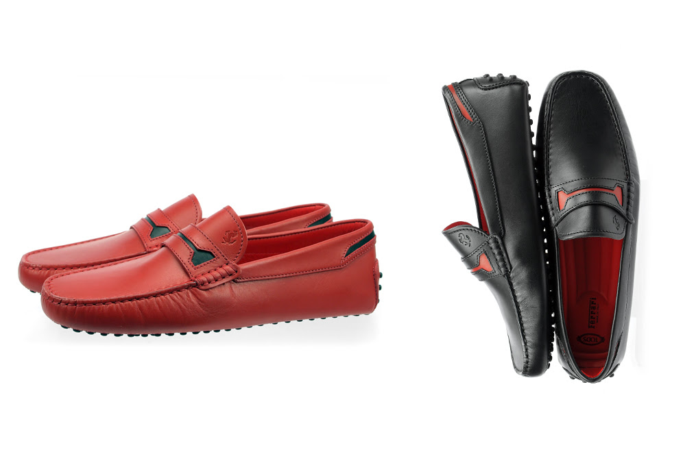 The New Limited Edition Ferrari Gommino by Tod's | Blog Purentonline