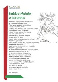 Storia Della Renna Rudolph Da Colorare Rudolph La Renna Dal