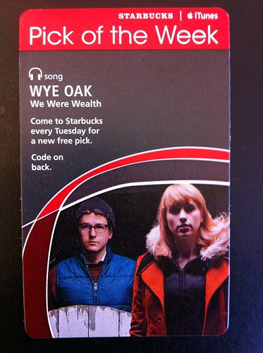 Starbucks iTunes Pick of the Week - Wye Oak - We Were Wealth