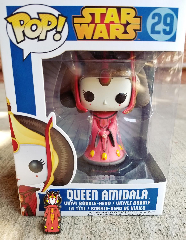 Queen Amidala Pin by Black Series Rebels | Anakin and His Angel