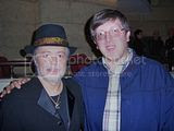 me and Chuck Mangione
