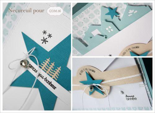 carte de voeux Necureuil détail version blog