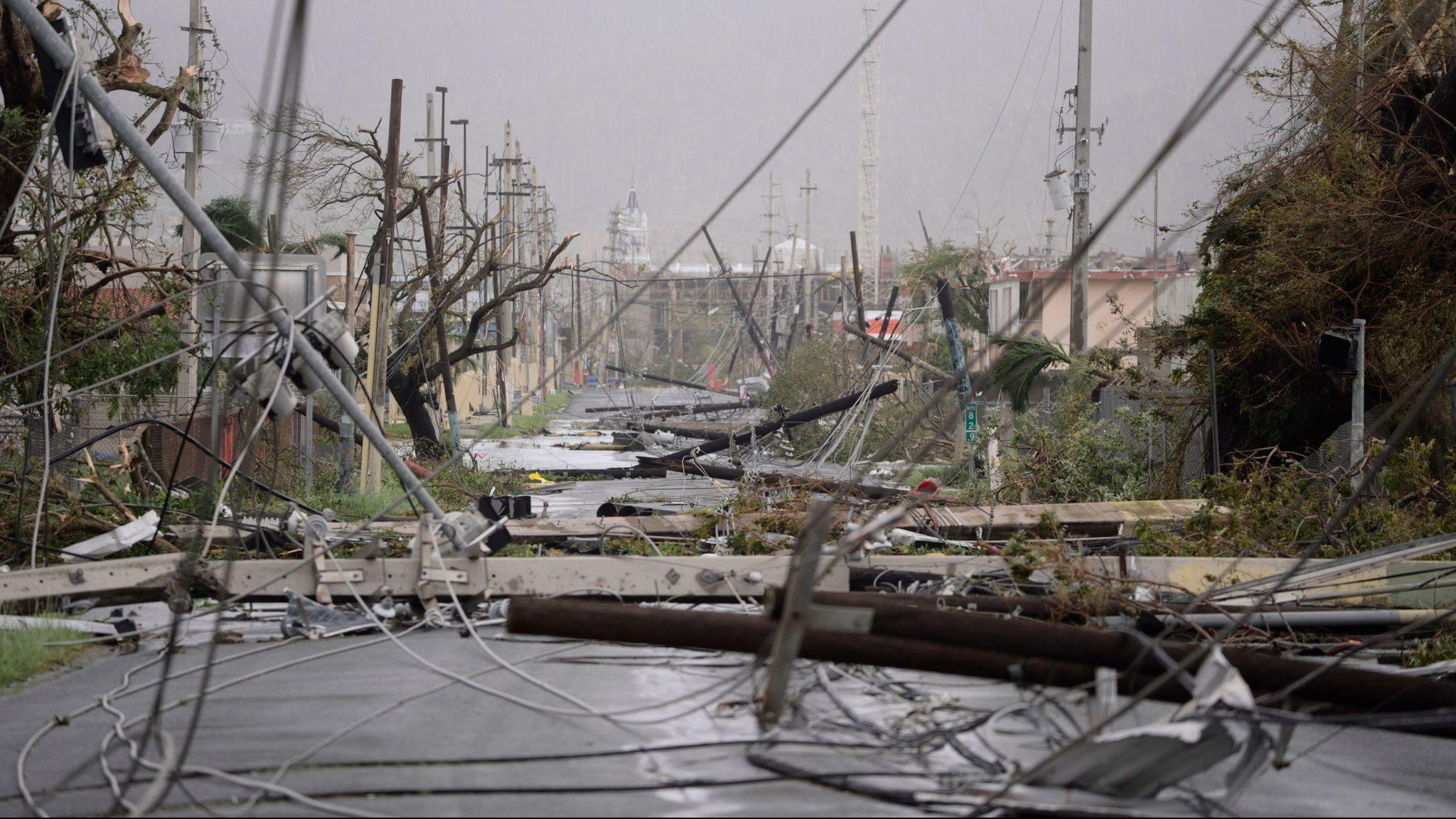 """Resultado de imagen para puerto Rico se llevó lo peor del huracán """"Maria"""""""