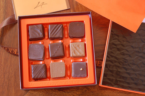 Arnaud Larher chocolates