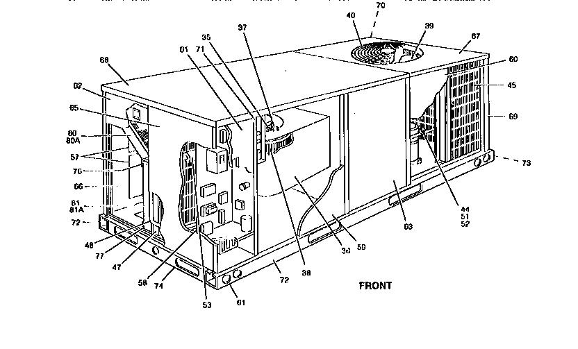 32 York Air Conditioner Parts Diagram