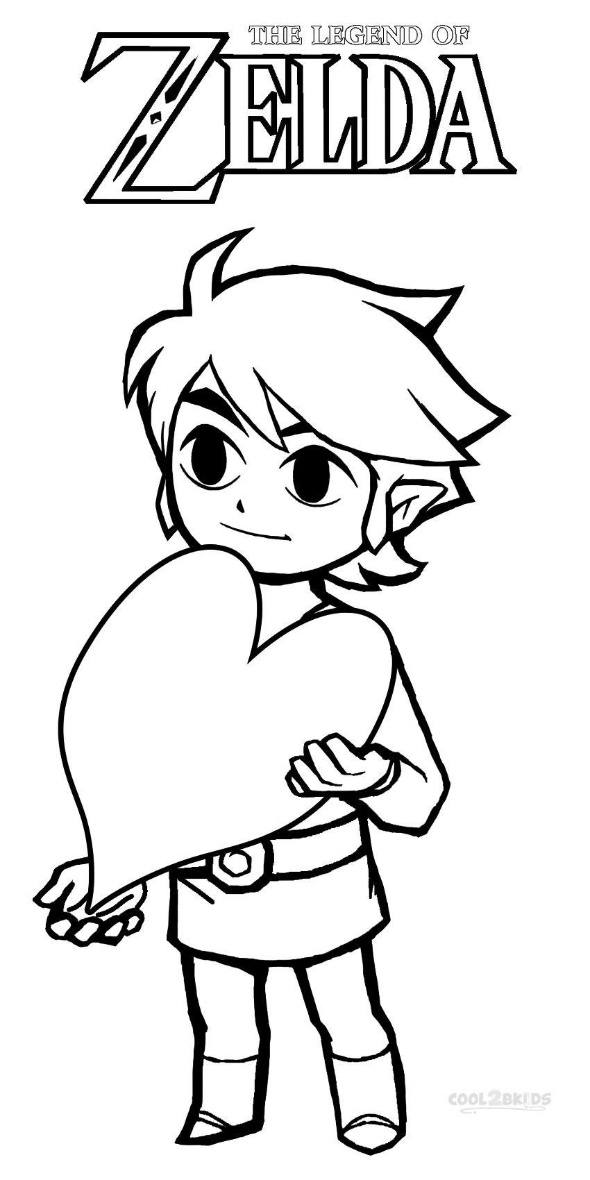 53 Dessins De Coloriage Zelda à Imprimer Sur Laguerchecom Page 4