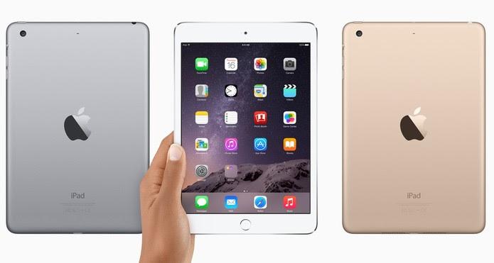 iPad mini 3 pode ganhar sucessor, iPad mini 4, em evento na próxima semana da Apple (Foto: Divulgação/Apple)